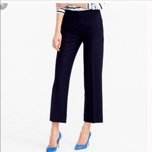 J Crew Patio Pant two way stretch cotton